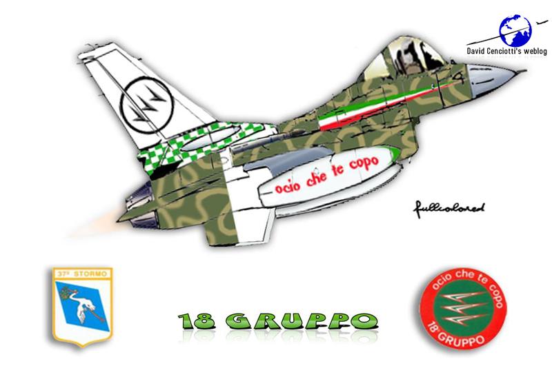 F-16 caricature