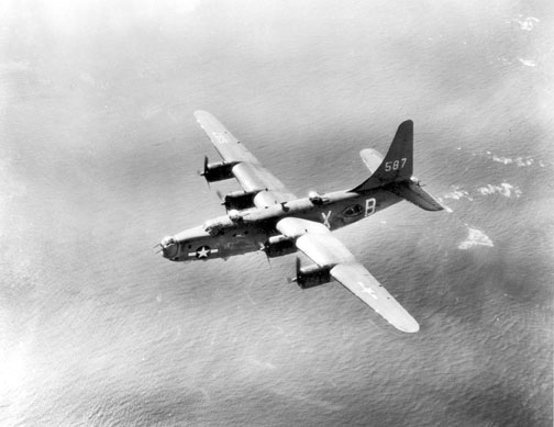 PB4Y-2 Privateer in flight