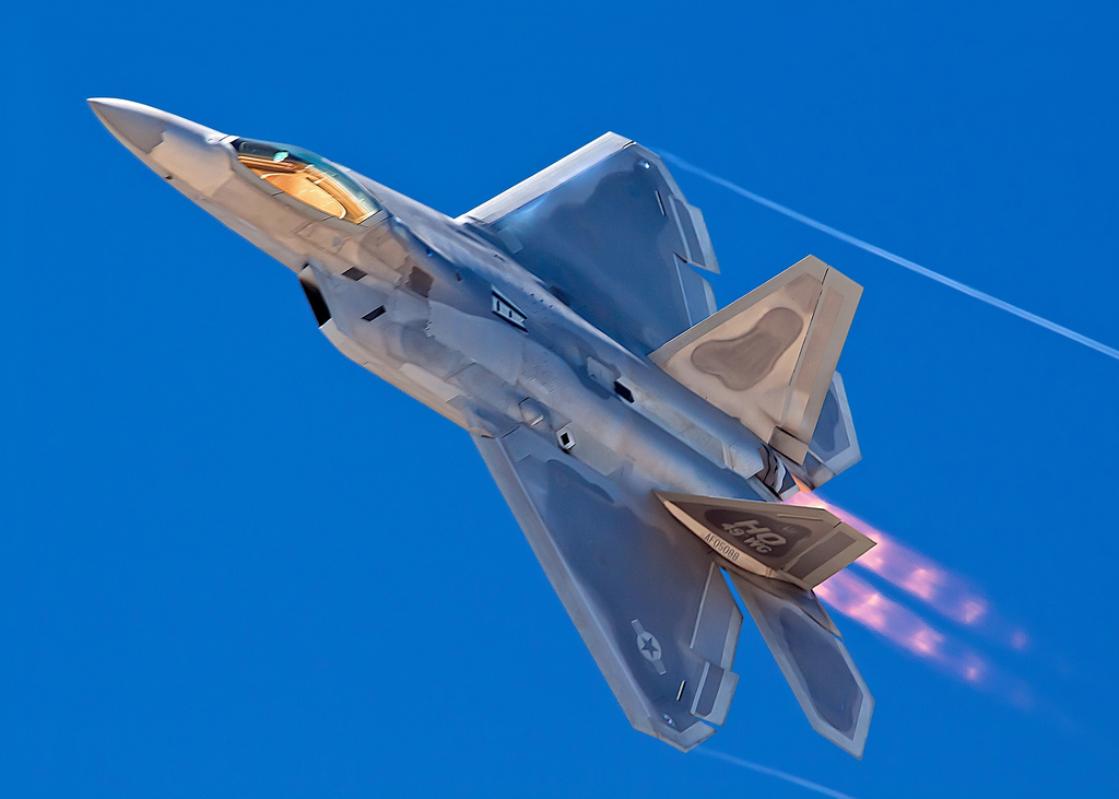 What do a multi-million fifth generation fighter jet and an