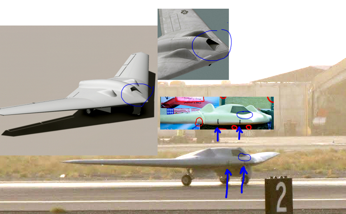 rq 170 stealth drone with 5 on 5 as well Badass X 47b Stealth Uav further Watch together with Iran Gains Drone Technology furthermore Who Tracked Hacked N Jacked.