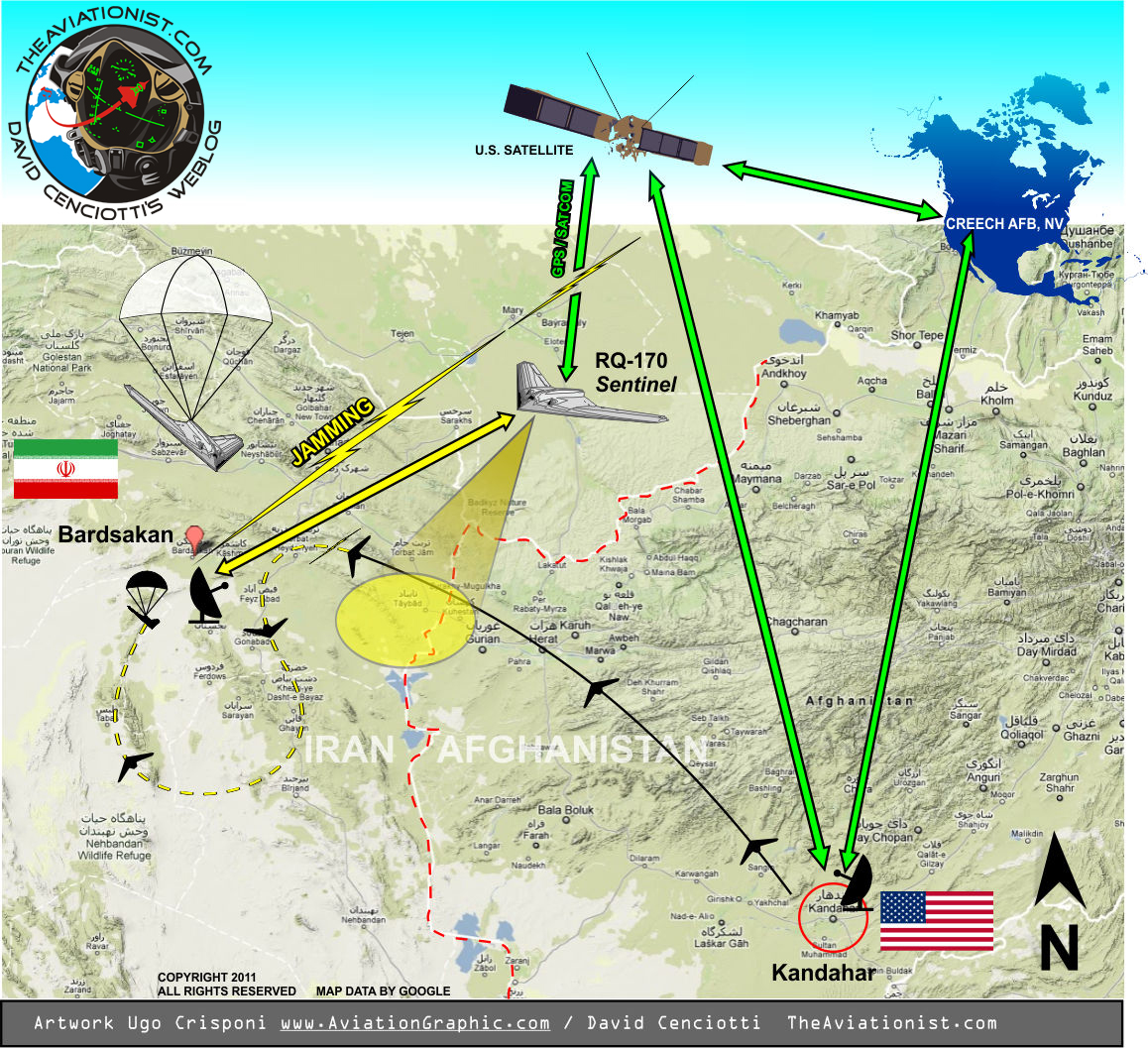 The Iranians say the RQ-170 was hijacked using Jamming and GPS spoofing attack tailored on known vulnerabilities of the UAV highlighted in Air Force official documents.