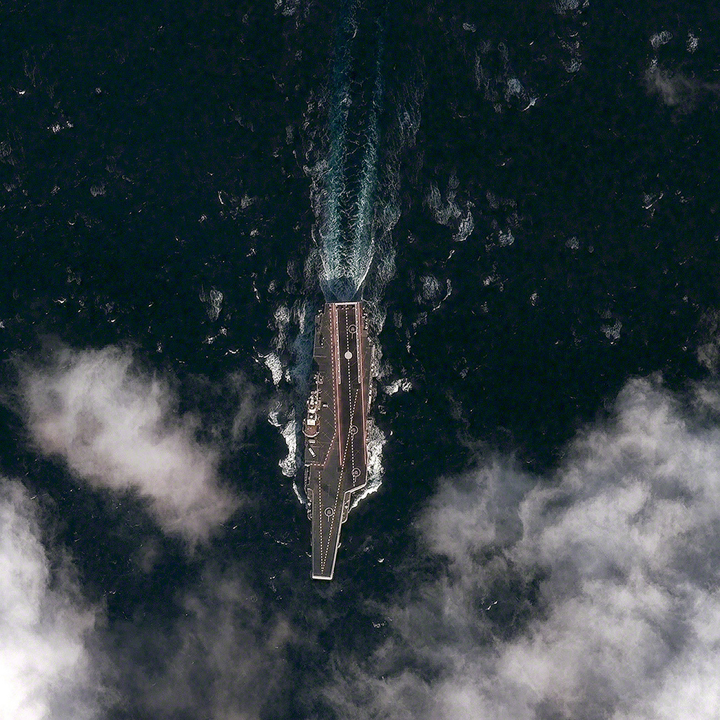 The Aviationist Satellite Captures First Chinese Aircraft - Best satellite images