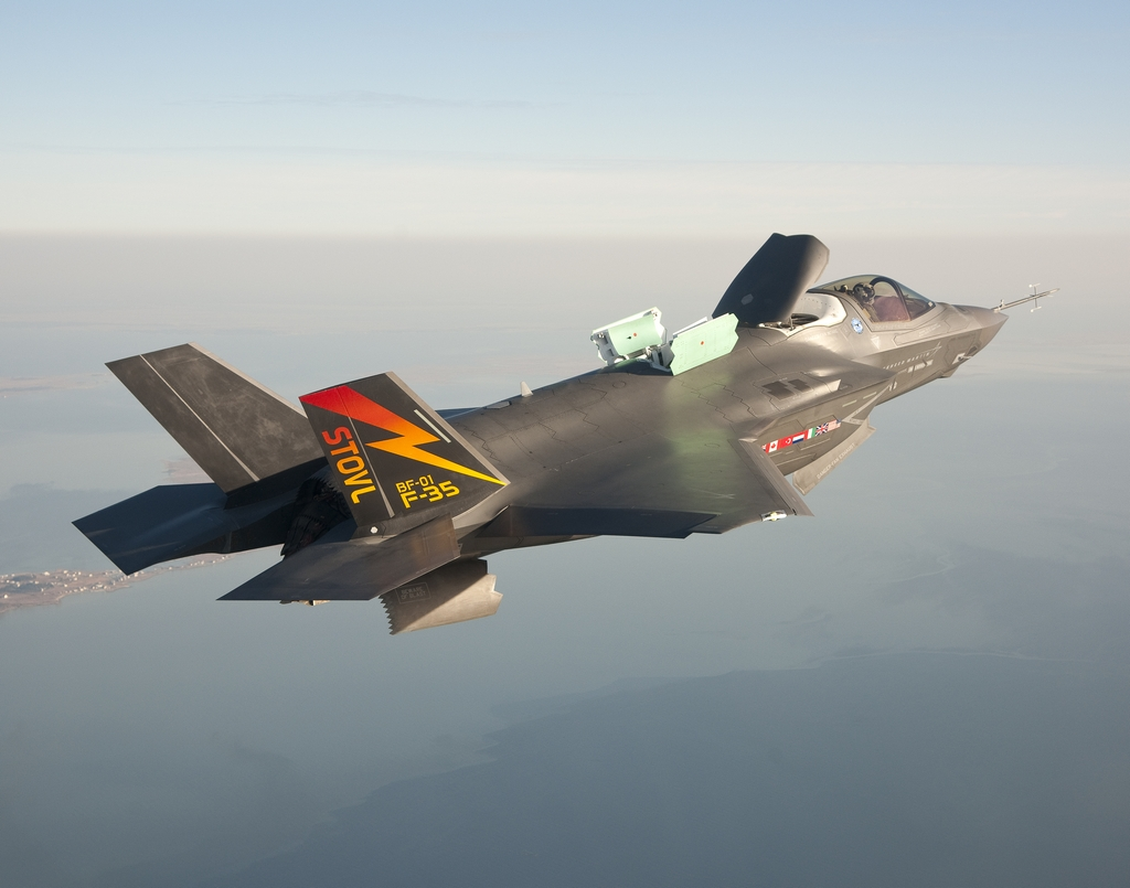 The F-35 remains essential to the future of air superiority