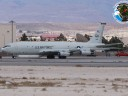 92-34289 GA. E-8C. 12 ACCS. Nellis 14.03.2012. (heat haze, only flew at night)