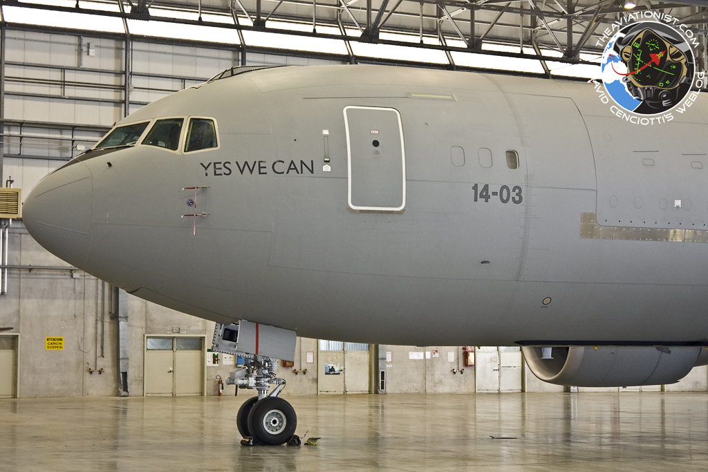 The Aviationist 187 Quot Yes We Can Quot Kc 767 Refueling Another