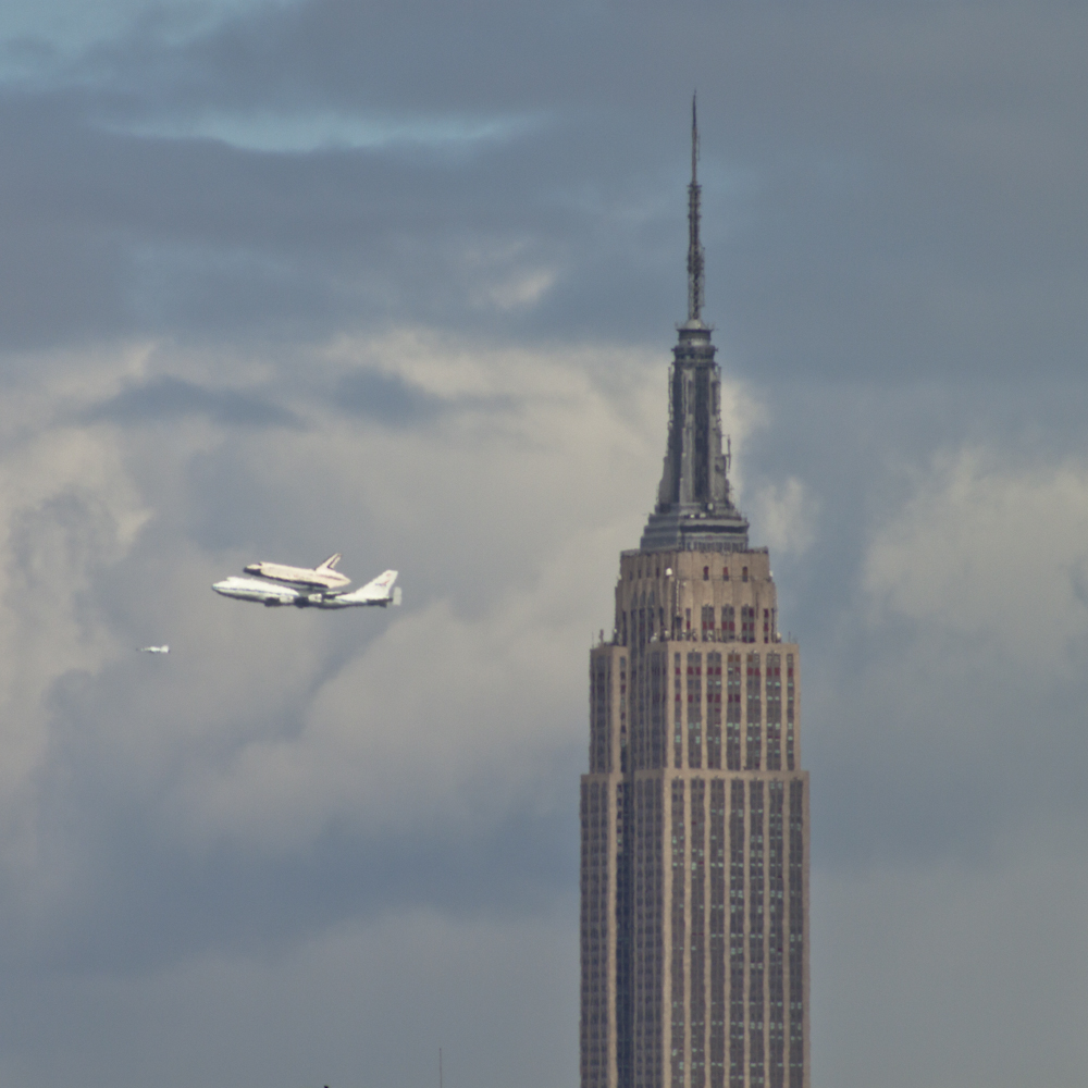 space shuttle enterprise in nyc - photo #3