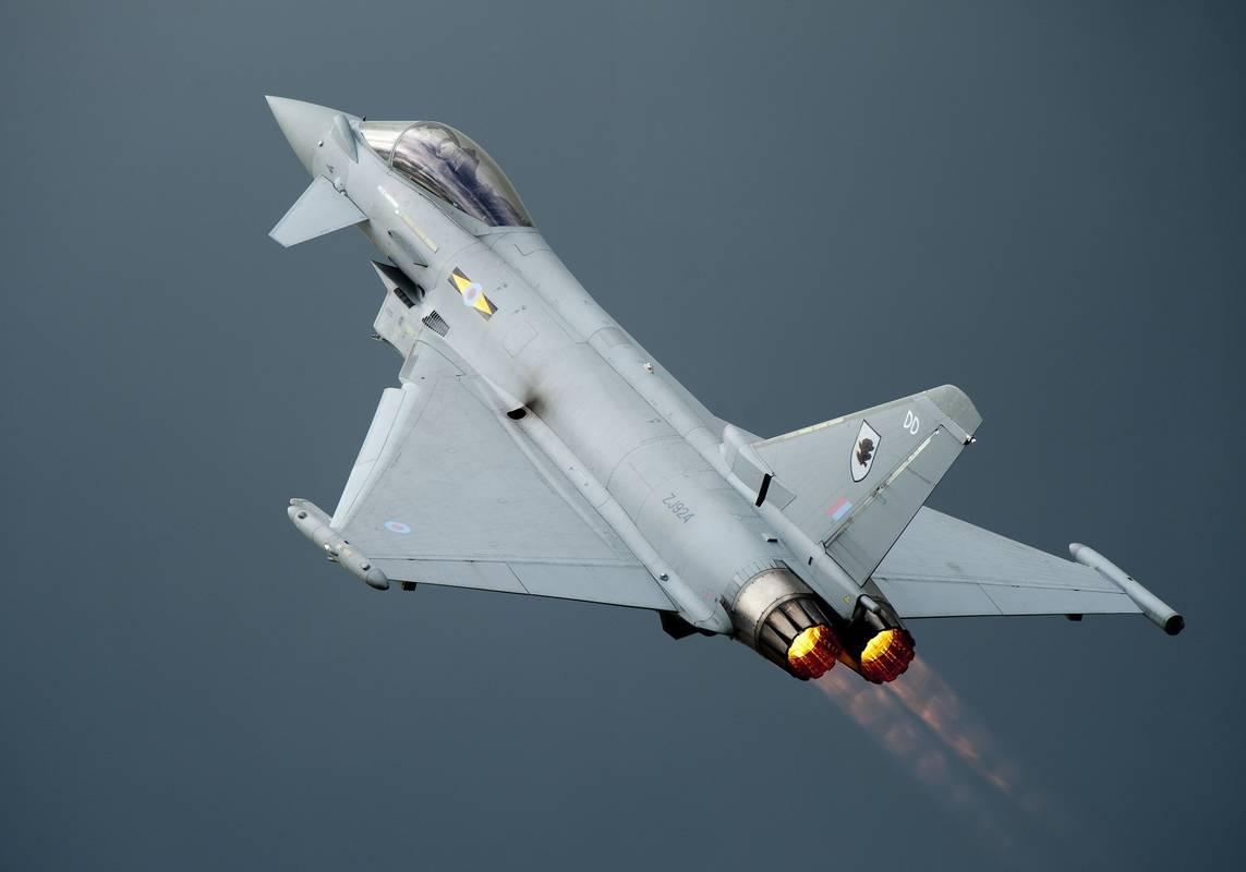 Typhoons Sonic Boom During Terrorist Hijack Alarm Causes