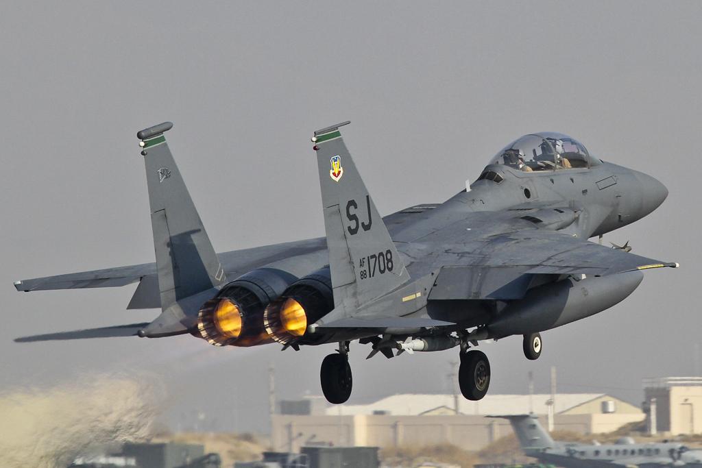 F 15 Strike Eagle The mysterious U S  F-15E