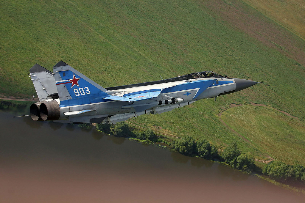 The Aviationist Mig 31