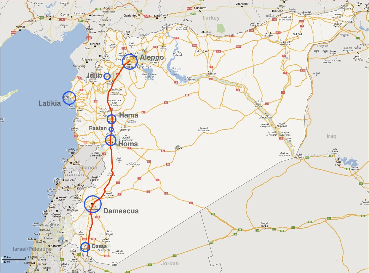 The Aviationist » Syria update: the attack on Hama
