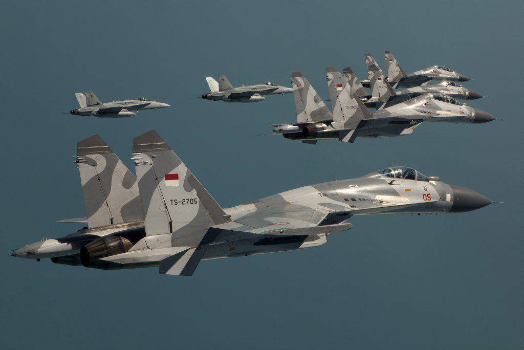 The Aviationist » Indonesia's (once top-secret) Sukhoi Su ...