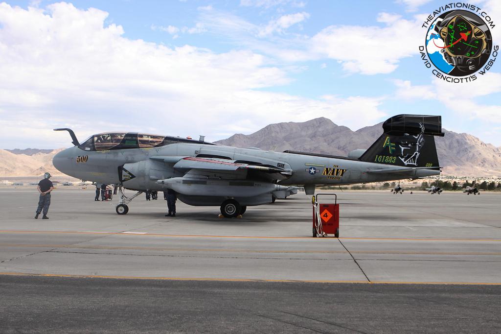 Usa 209 Nevada Las Vegas El Culto A La: 161883 AF-500. EA-6B. VAQ-209. Nellis 19.07.2012. Red Flag