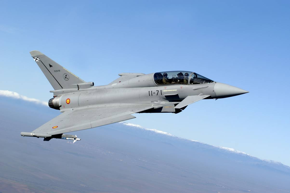 Spain to defer the delivery and purchase of 12 Typhoon fighter planes