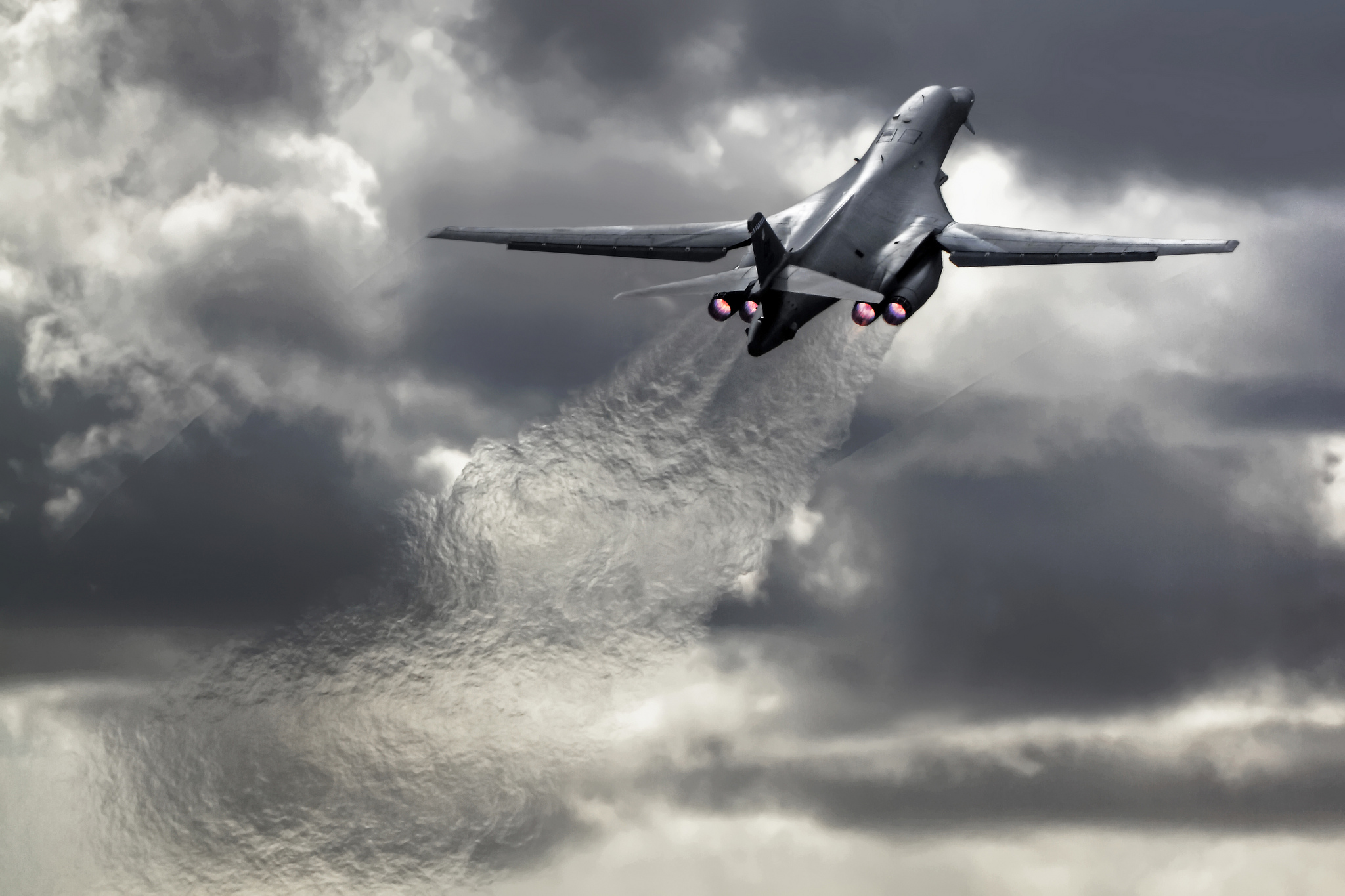 The Aviationist » U.S. Air Force to triple airspace for B ... B1 Lancer Supersonic