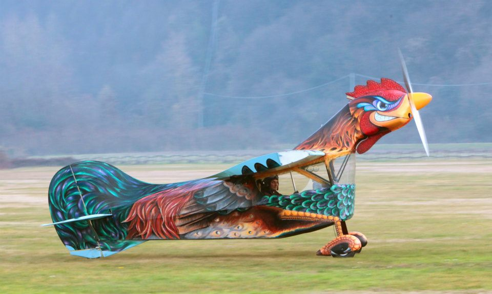 The Aviationist 187 The Flying Rooster Proves Even Weird