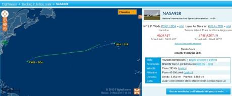 wb-57 flight aware