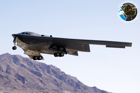 88-0329-WM. B-2A. 13BS. Red flag. 13-3. Nellis 27.02.2013