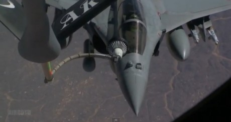 Rafale from KC-135