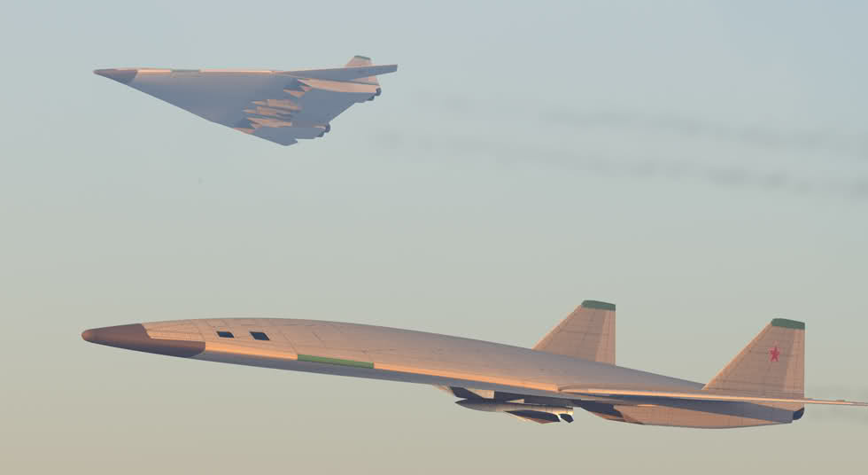"""Résultat de recherche d'images pour """"russia advanced aircraft strategic PAK DA"""""""