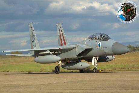 IAF F-15 taxi