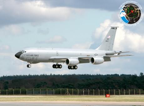 KC-135 crashed