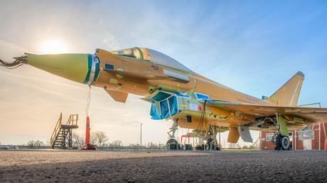 T3 Typhoon goes on test