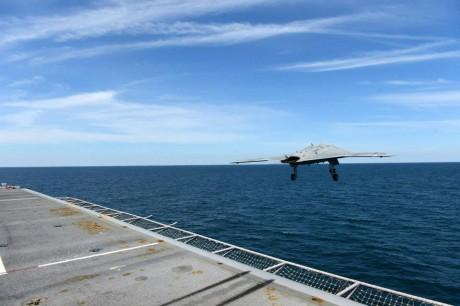 X-47B launch
