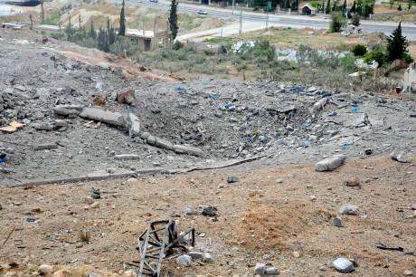 Mideast Syria Israel