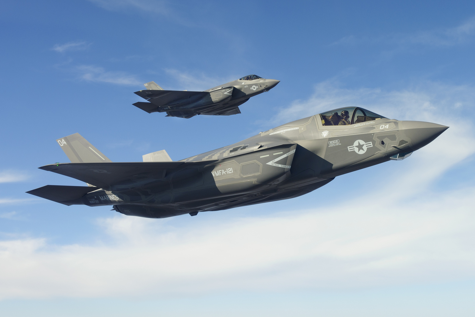 F 35 Stealth Fighter Jets F-35B and C