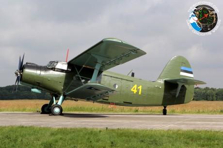 41. An-2R. Estonian AF