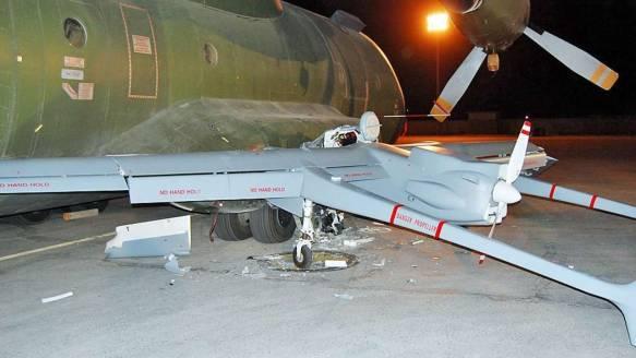 Drones (non issus d'aéronefs pilotés) - Page 2 Crash-2