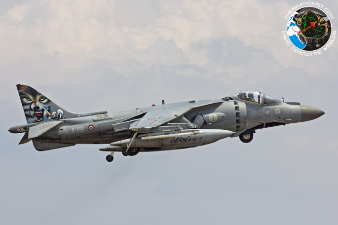 Harrier in Deci