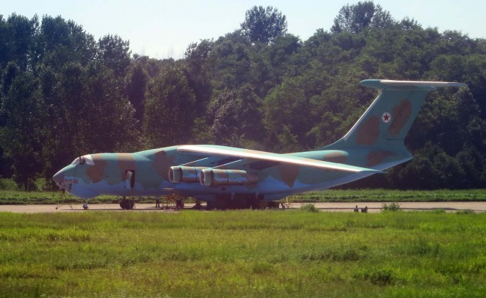 IL-76 North Korea CAMO