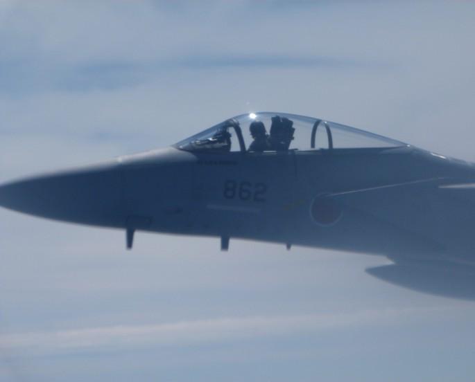F-15J cerca