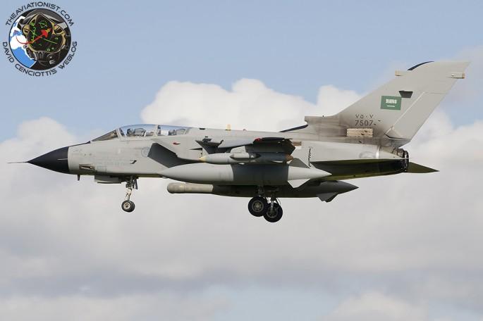 RSAF Tornado 1