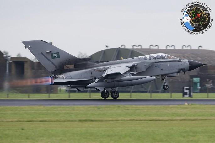 RSAF Tornado takeoff