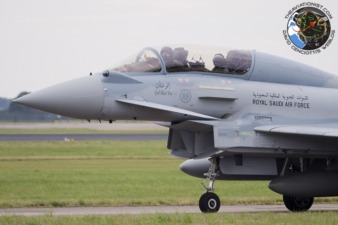 RSAF Typhoon two-seater