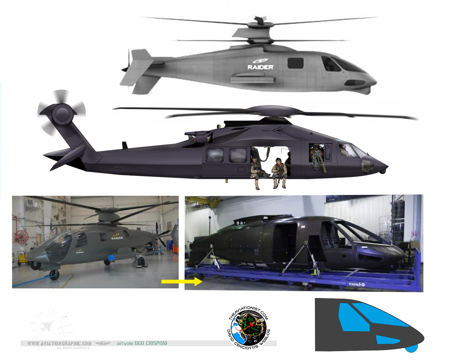 "... to the mysterious Stealth ""Osama Bin Laden raid"" helicopter"
