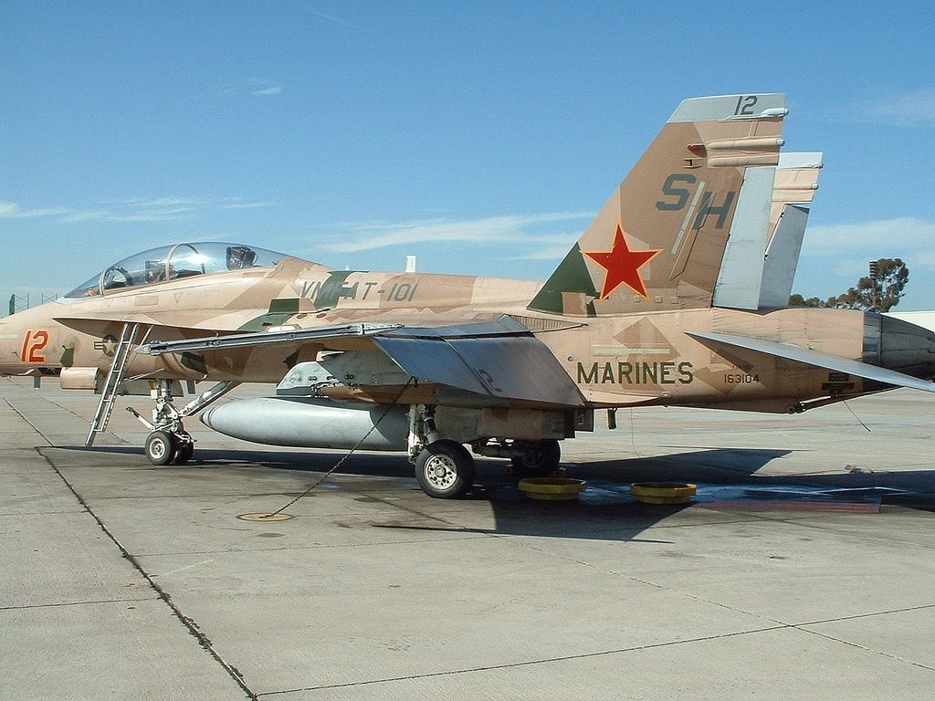 "The Aviationist » The cool ""Splinter"" paint scheme was ..."