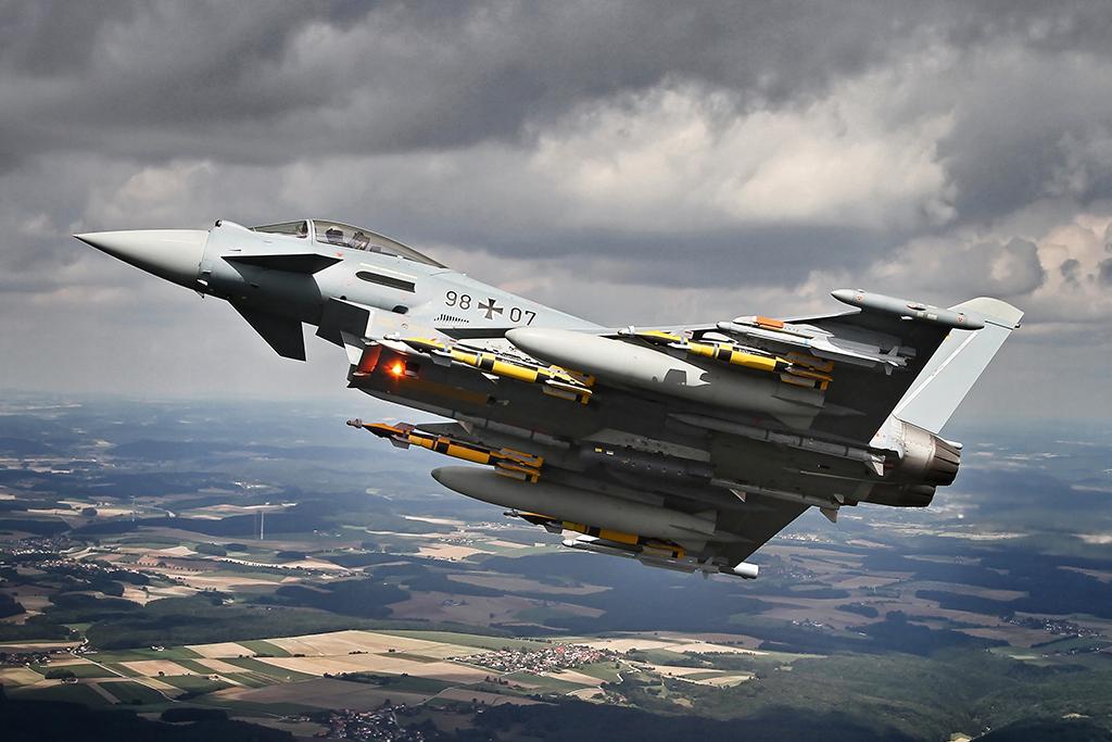 Eurofighter Typhoon – Falhas estruturais:  Alemanha reduz horas de voo