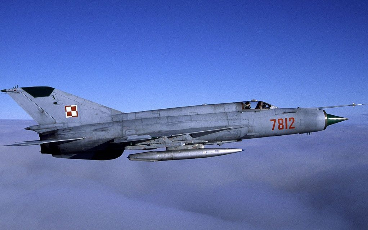 Ex Warsaw Pact MiG 21 Fishbeds Provide Threat Simulation Services Over