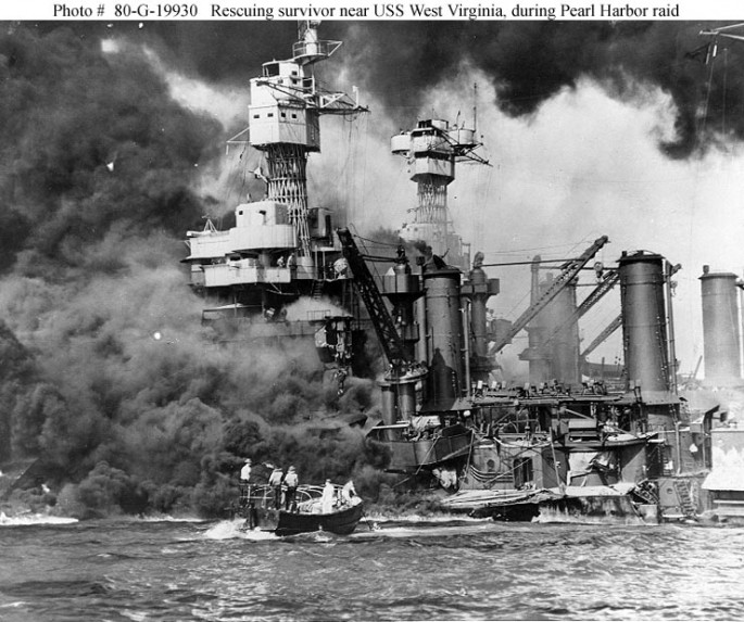 5-USS West Virginia