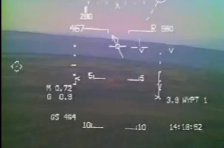 Harrier low level video