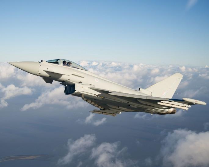 Tranche 3 Typhoon first flight