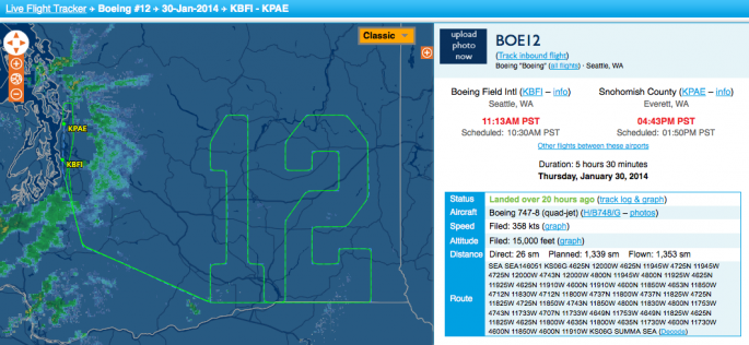 BOE 12 flight plan
