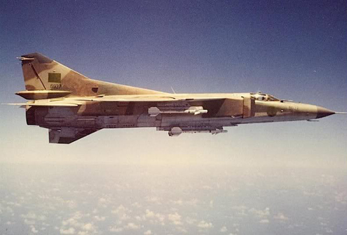 MIG-23 Libya