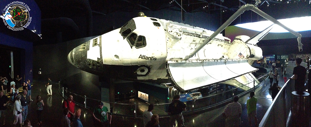 The Aviationist » [Photo] Space Shuttle Atlantis at the ...