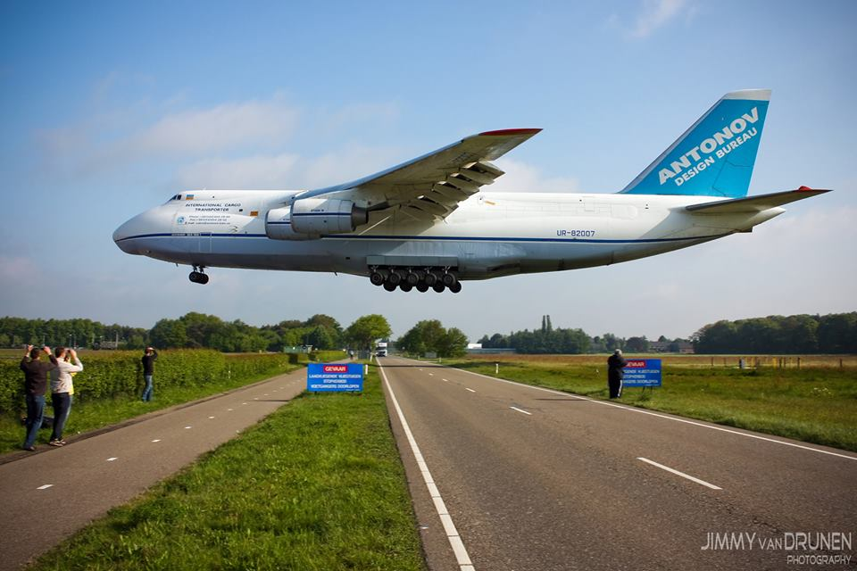Ruslan planes are the largest in the world