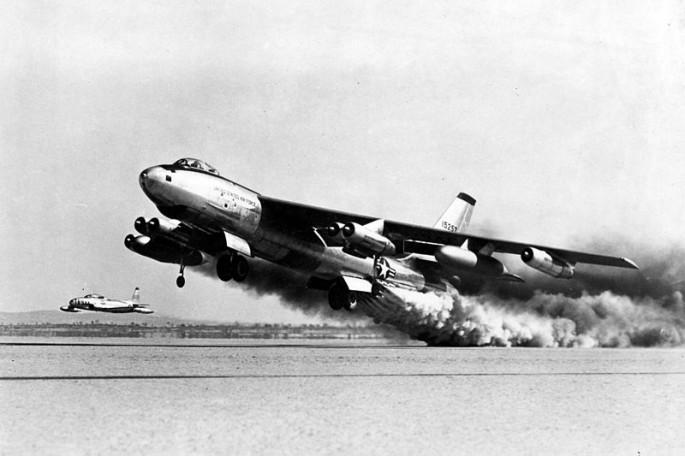 B-47 JATO takeoff