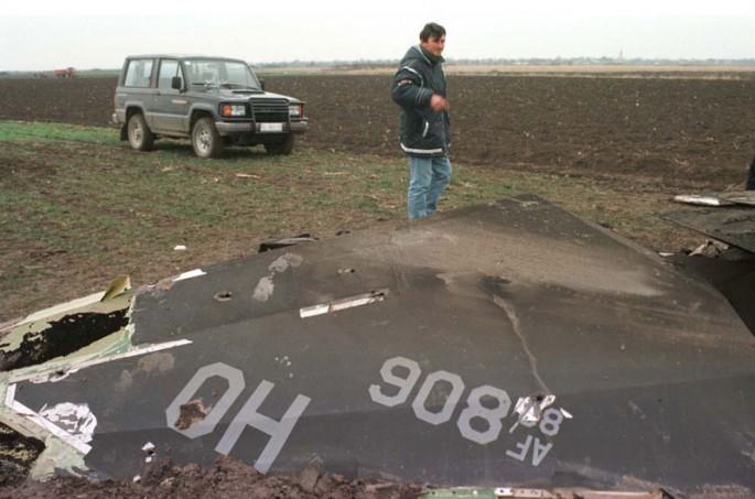 F-117 wreckage 2